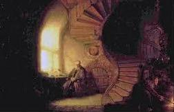 Rembrandt staircase